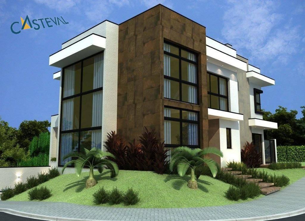CA0115-CST, Casa de 4 quartos, 313 m² à venda no Santa Felicidade - Curitiba/PR