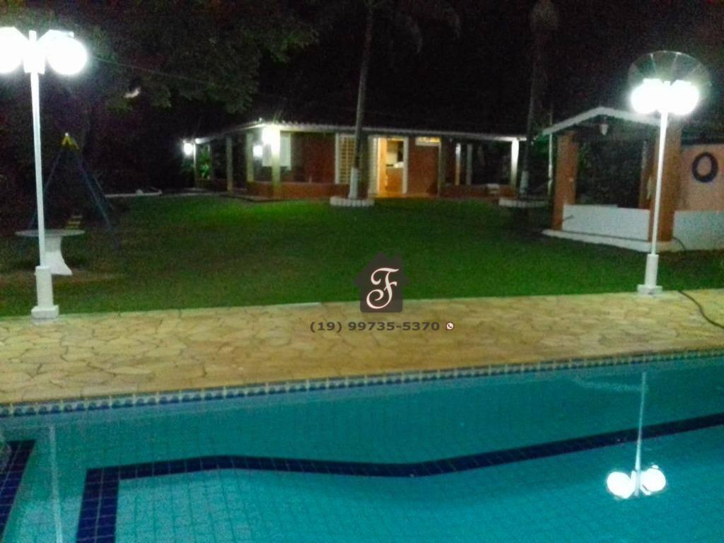 Chácara residencial à venda, Recreio Tsuriba, Campinas.
