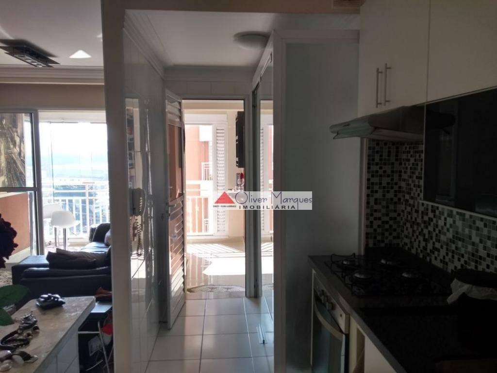 Apartamento com 2 dormitórios à venda, 68 m² por R$ 600.000,00 - Alphaville Empresarial - Barueri/SP