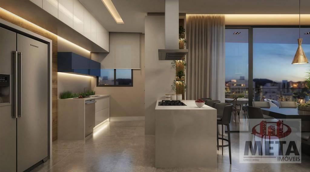 Apartamento com 3 Dormitórios à venda, 127 m² por R$ 879.227,46