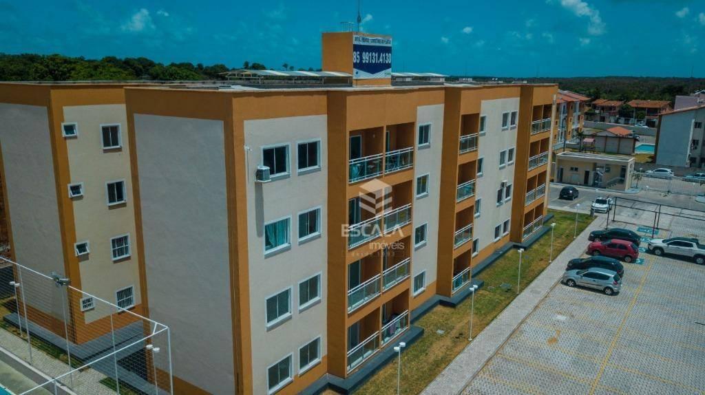 Apartamento com 3 quartos à venda, 61 m² , novo, financia - Curicaca - Caucaia/CE