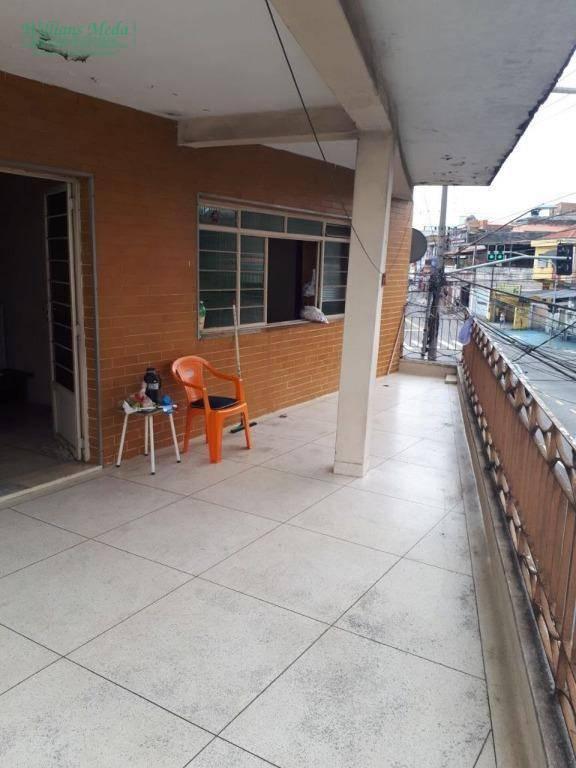 Sobrado residencial para locação, Cocaia, Guarulhos.