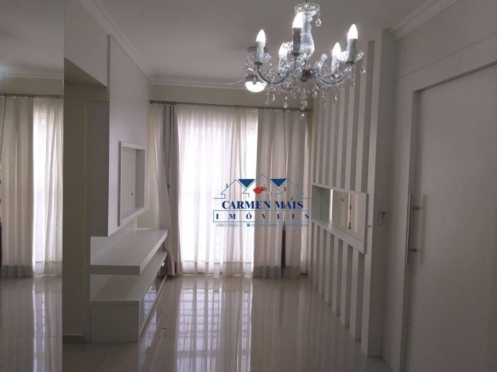 Apartamento com 3 dormitórios para alugar, 59 m² por R$ 1.200/mês - Centro - São José dos Pinhais/PR