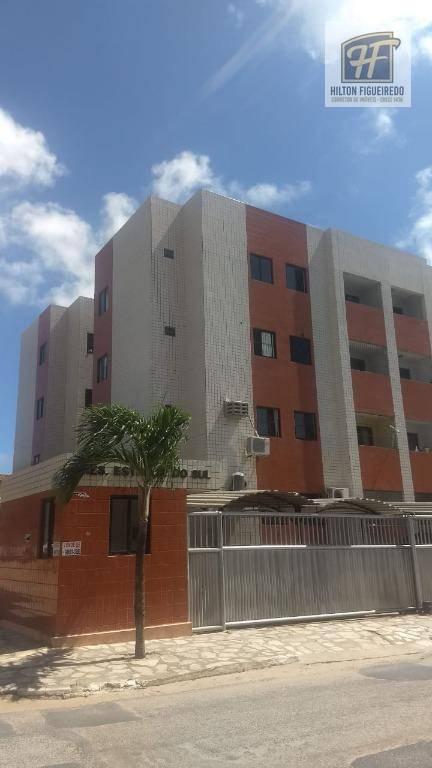 Apartamento com 3 dormitórios para alugar, 80 m² por R$ 900/ano - Jardim Cidade Universitária - João Pessoa/PB