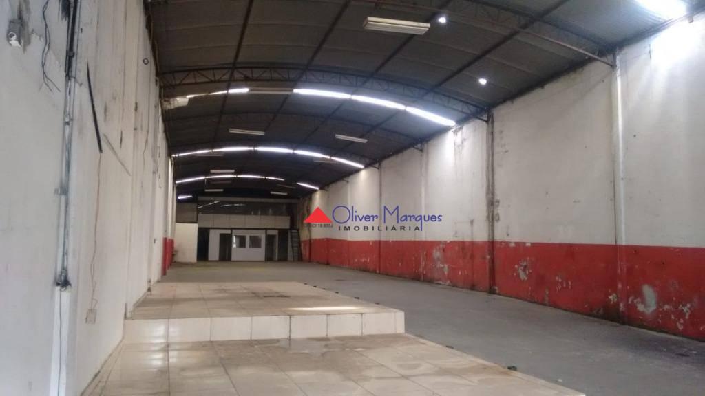 Galpão para alugar, 500 m² por R$ 8.000/mês  Avenida Hildebrando de Lima, 1205 - Km 18 - Osasco/SP