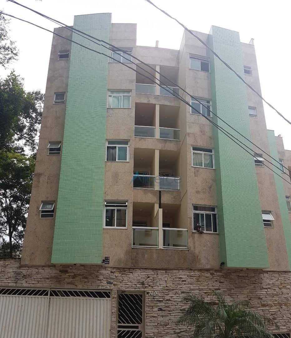 Apartamento com 2 dormitórios para alugar, 70 m² por R$ 950,00/mês - Granbery - Juiz de Fora/MG