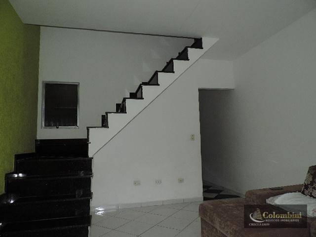 Sobrado com 2 dormitórios à venda, 229 m² por R$ 340.000 - Jardim Thelma - São Bernardo do Campo/SP