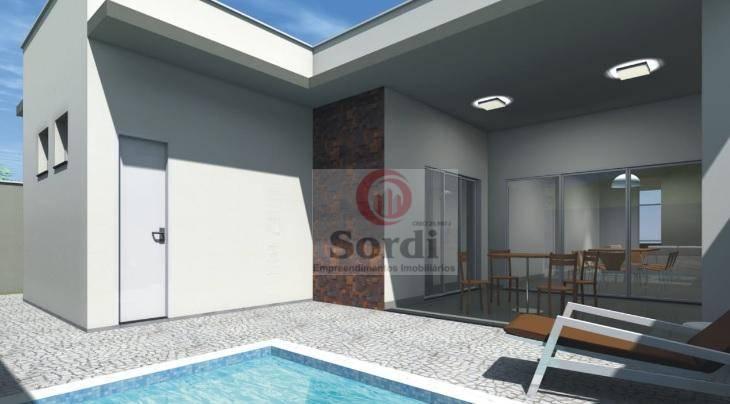 Casa à venda, 157 m² por R$ 650.000,00 - Bonfim Paulista - Ribeirão Preto/SP