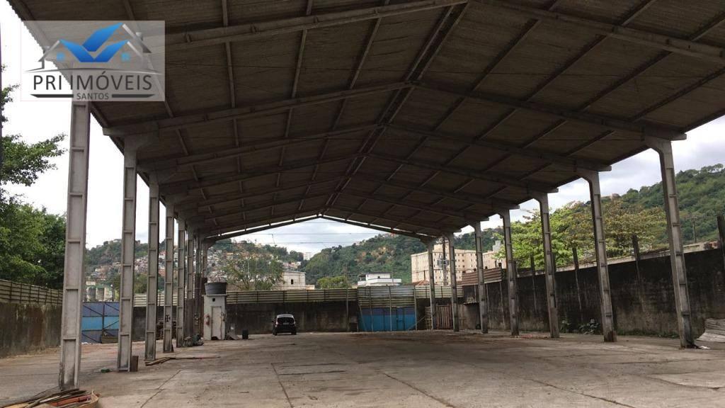 Galpão industrial para venda e locação, Saboó, Santos.