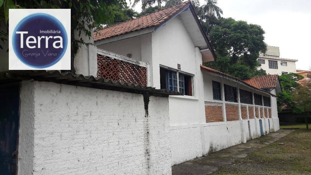 Terreno comercial para locação, Jardim da Glória, Granja Viana.
