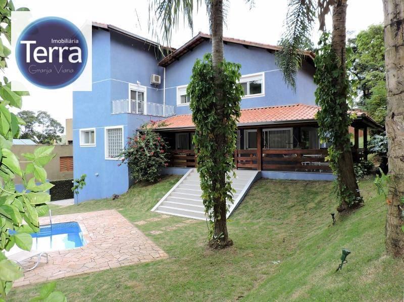 Casa  residencial à venda, Recanto Inpla, Granja Viana.