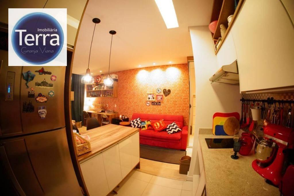 Loft com 1 dormitório à venda, 42 m² por R$ 360.000 - Le Grand Viana - Granja Viana