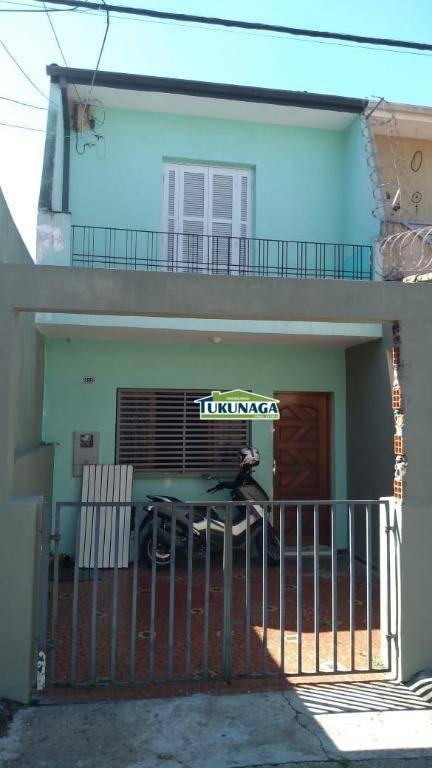 Sobrado com 2 dormitórios para alugar, 100 m² por R$ 1.300/mês - Vila Galvão - Guarulhos/SP código SO0348