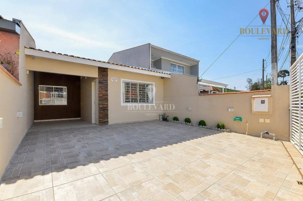 Casa térrea com 3 dormitórios à venda, 73 m² por R$ 280.000 - Uberaba - Curitiba/PR