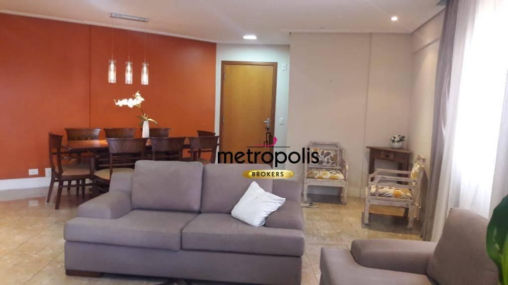 Apartamento à venda, 137 m² por R$ 852.000,00 - Santa Paula - São Caetano do Sul/SP