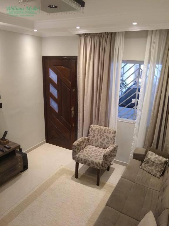 Sobrado com 3 dormitórios à venda, 150 m² por R$ 550.000 - Jardim Santa Cecília - Guarulhos/SP