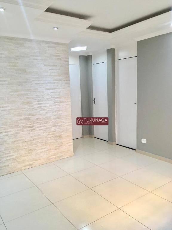 Apartamento com 2 dormitórios para alugar, 47 m²  - Parque Jurema - Guarulhos/SP