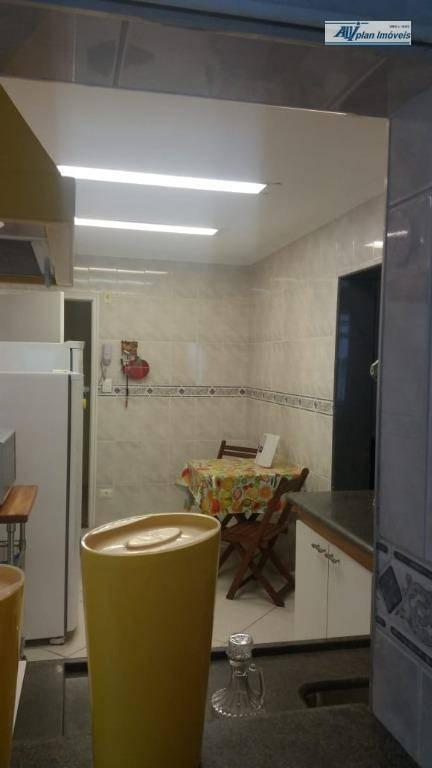 Apartamento com 2 dormitórios para alugar, 84 m² por R$ 3.800,00/mês - Gonzaga - Santos/SP