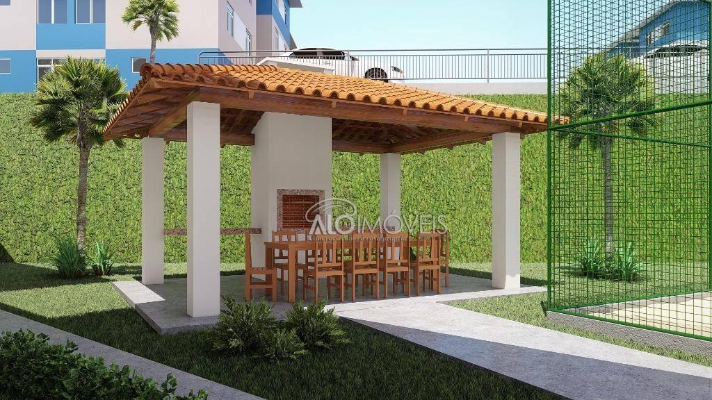 Apartamento na planta com 2 dormitórios à venda, 41 m² por R$ 125.800 - Tanguá - Almirante Tamandaré/PR