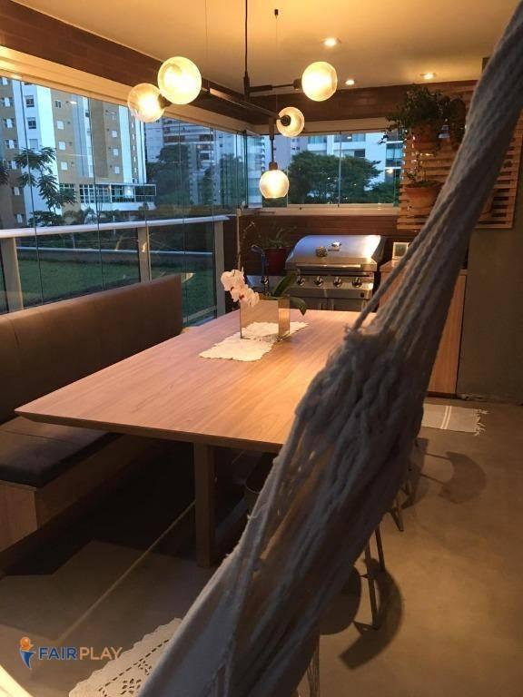 Apartamento 2 dormitorios suite varanda gourmet com lazer co