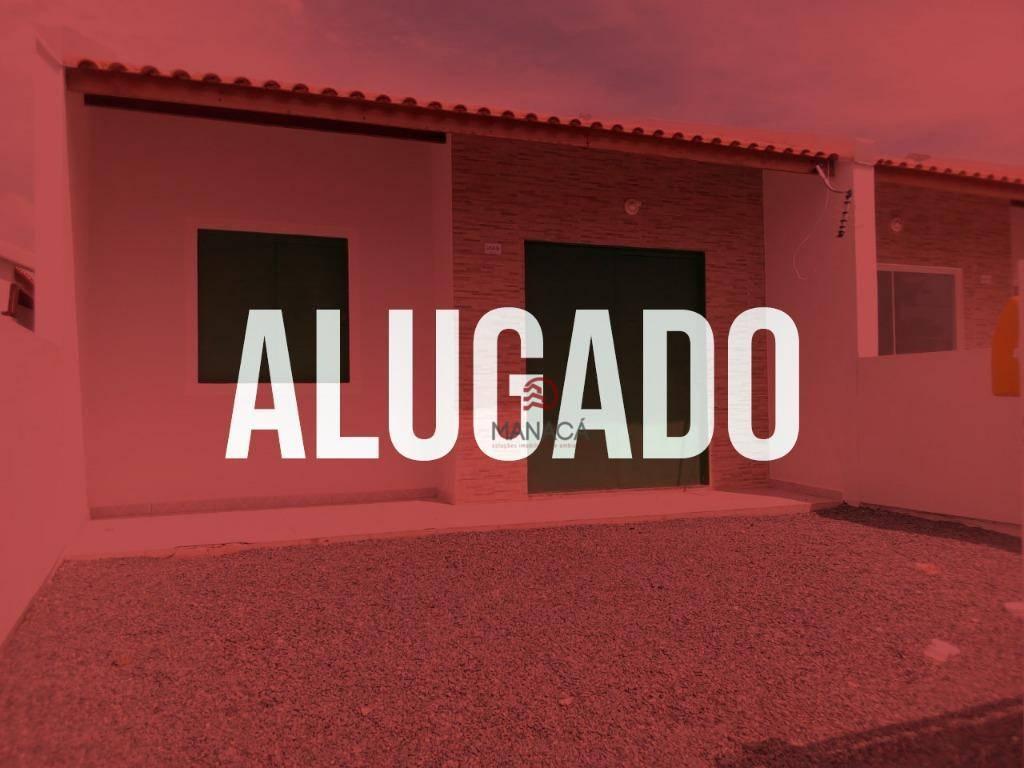 Casa com 2 dormitórios para alugar, 43 m² por R$ 650/mês - Quinta dos Açorianos - Barra Velha/SC