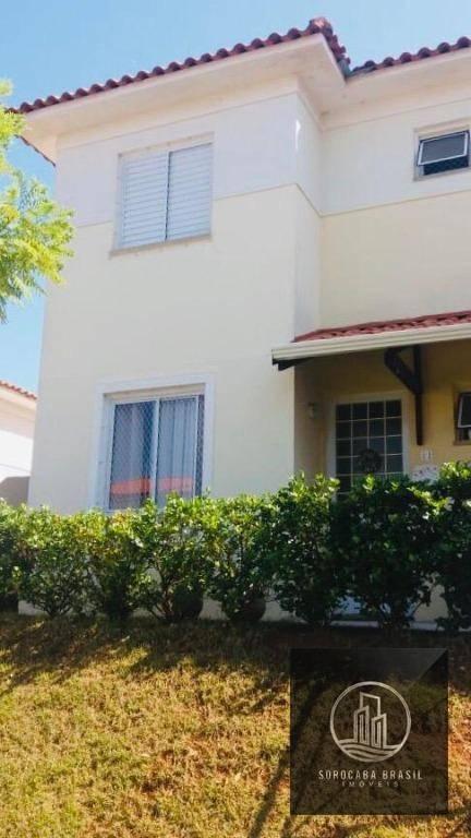 Casa com 3 dormitórios à venda, 88 m² por R$ 360.000,00 - Condomínio Villa Flora - Votorantim/SP