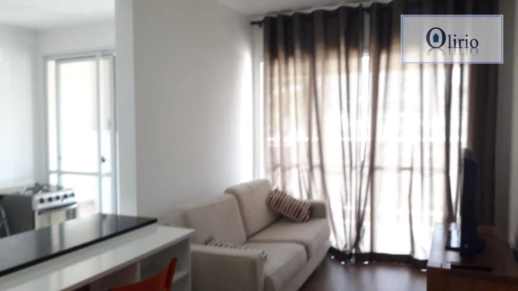 Apartamento com 1 dormitório à venda, 49 m² por R$ 350.000