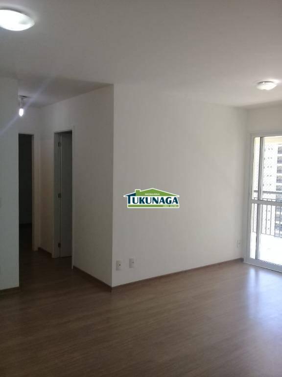 Apartamento 2 dormitórios sendo 1 suíte ? Jardim Flor da Montanha ? 65m²