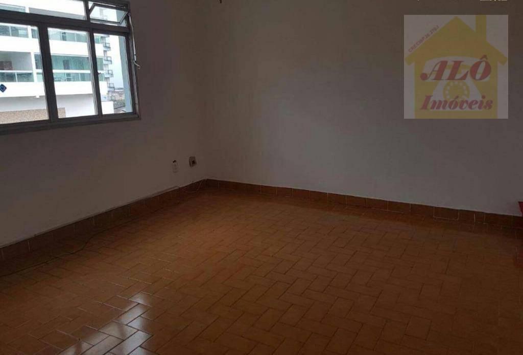 Kitnet com 1 dormitório à venda, 31 m² por R$ 105.000 - Canto do Forte - Praia Grande/SP