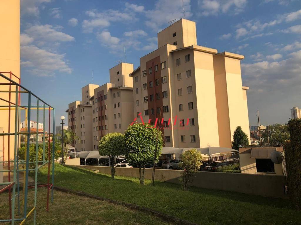 Apartamento com 2 dormitórios à venda, 49 m² por R$ 225.000 - Parque Oratório - Santo André/SP