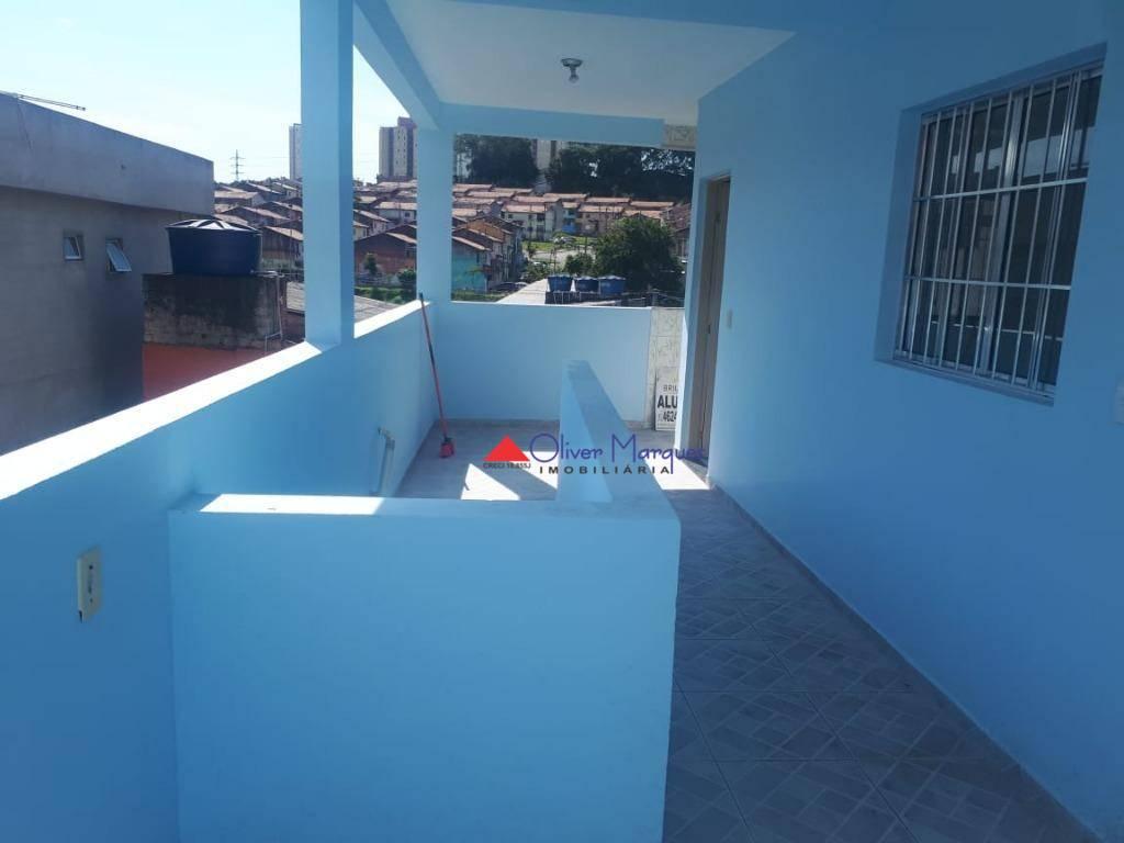 Casa com 1 dormitório para alugar, 80 m² por R$ 900,00/mês - Padroeira - Osasco/SP