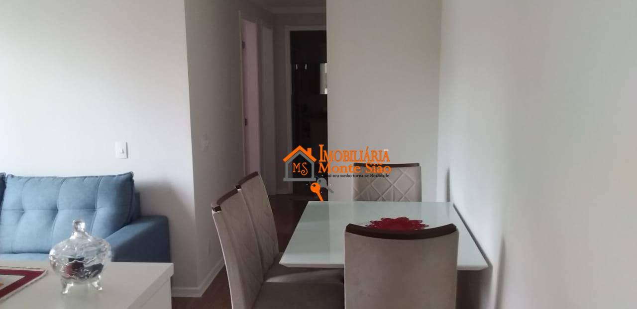 Lindo Apartamento no Fatto Passion com 2 dormitórios, 50 m² - Vila Augusta - Guarulhos/SP