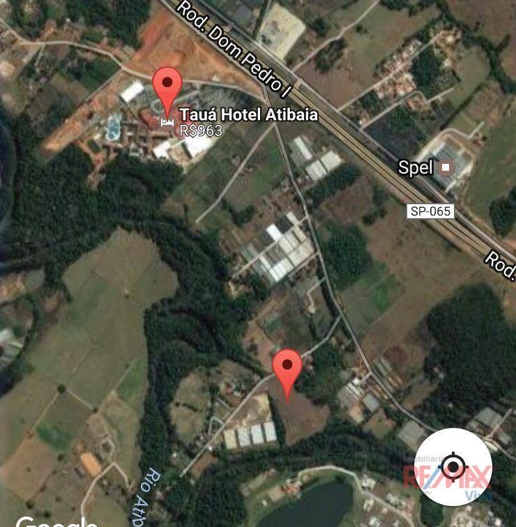 Área industrial em Atibaia - ROD DOM PEDRO I