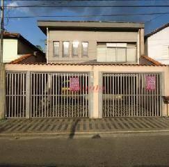 Sobrado Residencial à venda, Parque Oratório, Santo André - SO0073.
