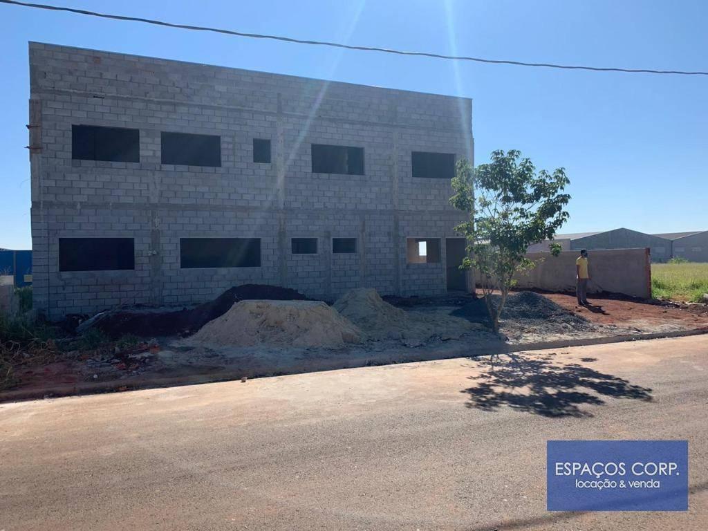 Galpão para alugar, 745m² - Centro Empresarial Castelo Branco - Boituva/SP