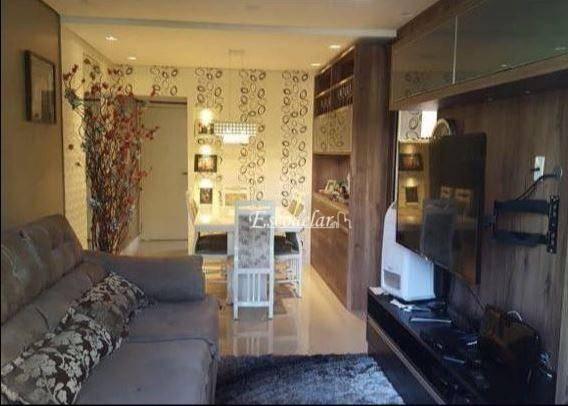 Apartamento residencial à venda, Vila Baeta Neves, São Bernardo do Campo - AP2963.