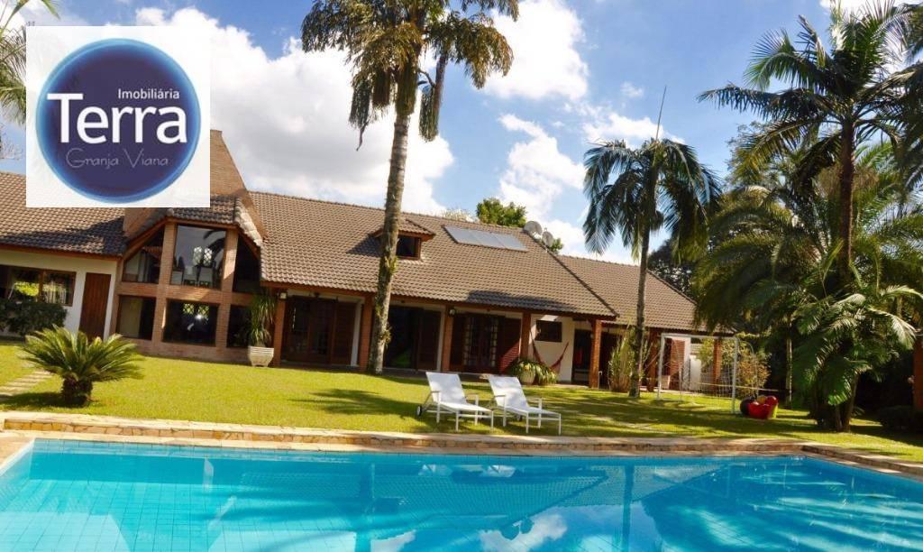 Casa com 6 dormitórios à venda, 800 m² por R$ 2.500.000,00 - Chácara Vale do Rio Cotia - Carapicuíba/SP
