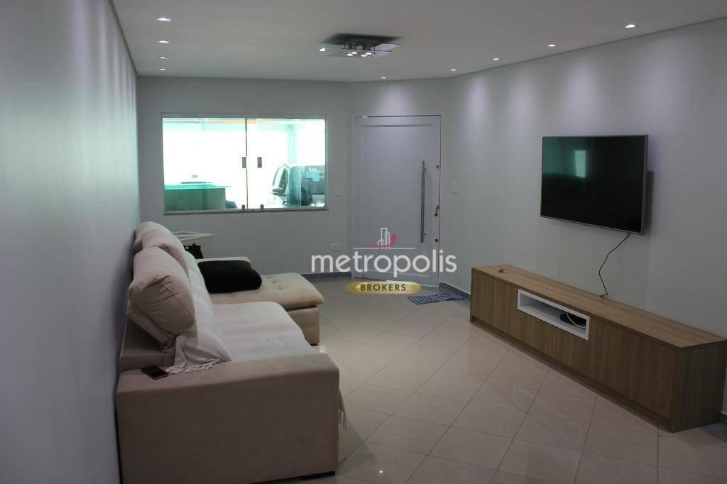 Sobrado à venda, 263 m² por R$ 1.060.000,00 - Osvaldo Cruz - São Caetano do Sul/SP