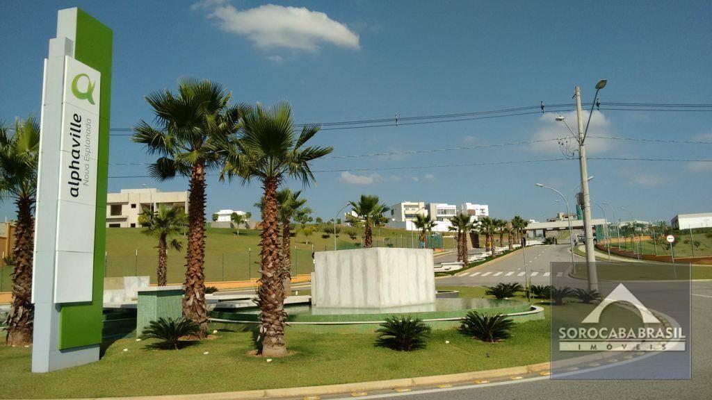 Terreno à venda, 413 m² por R$ 340.000 - Alphaville Nova Esplanada I - Votorantim/SP, próximo ao Shopping Iguatemi.