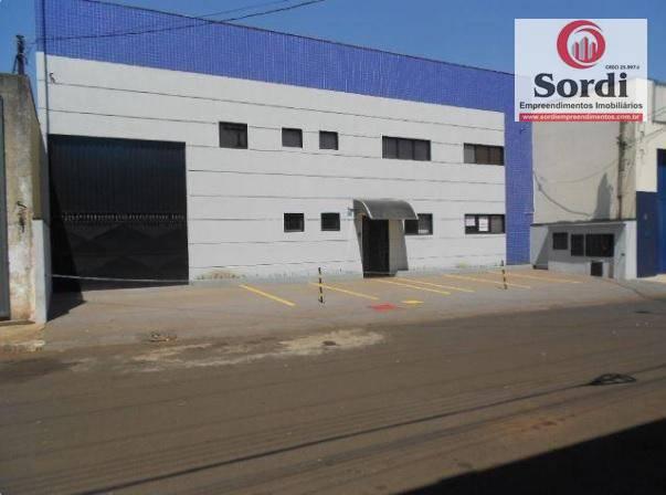 Galpão industrial à venda, Vila Elisa, Ribeirão Preto.