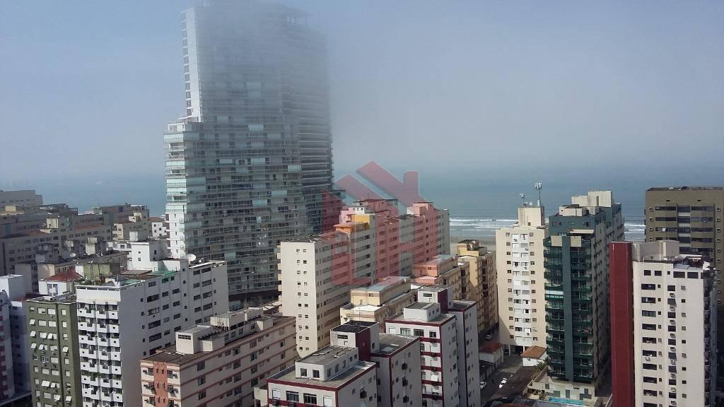 Apartamento Studio - Vista mar - Pompéia - Santos