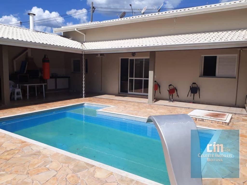 Casa com 3 dormitórios à venda, 197 m² - Portal dos Pássaros - Boituva/SP