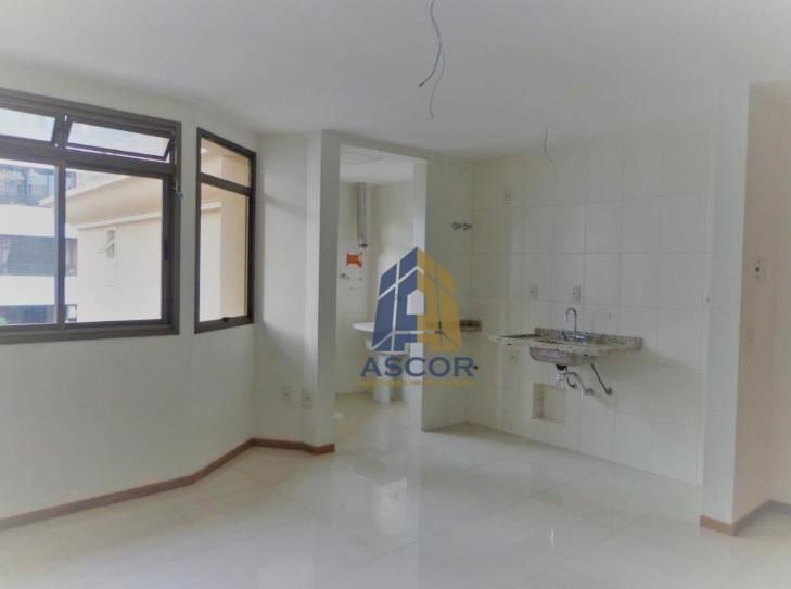 Apartamento próximo da Beiramar norte com 1 dormitório para alugar, 40 m² por R$ 1.900/mês - Agronômica - Florianópolis/SC