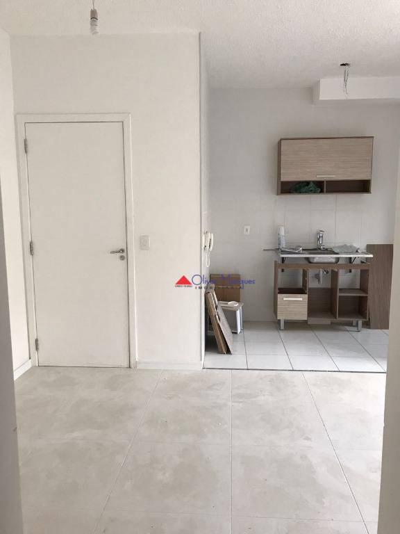 Apartamento com 2 dormitórios à venda, 48 m² por R$ 210.000 - Novo Osasco - Osasco/SP