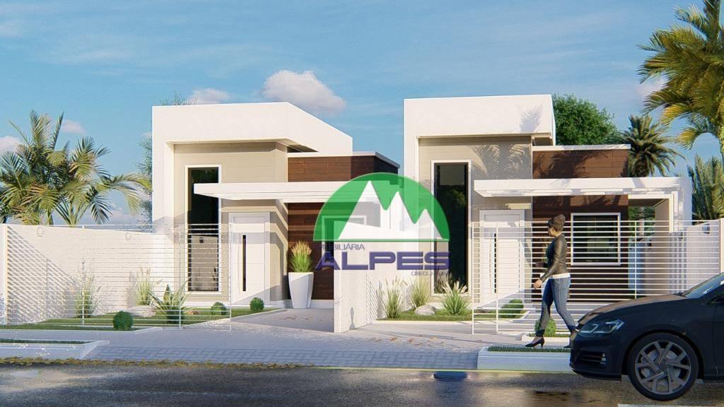 Casa com 3 dormitórios à venda, 83 m² por R$ 350.000,00 - Iguaçu - Fazenda Rio Grande/PR