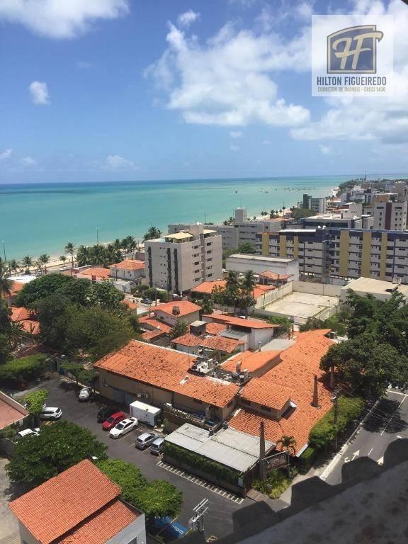 Apartamento com 3 dormitórios para alugar, 160 m² por R$ 2.300/mês - Manaíra - João Pessoa/PB