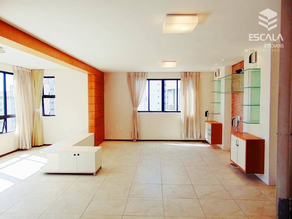 Apartamento com 3 quartos à venda, 135 m², 1 por andar - Aldeota - Fortaleza/CE