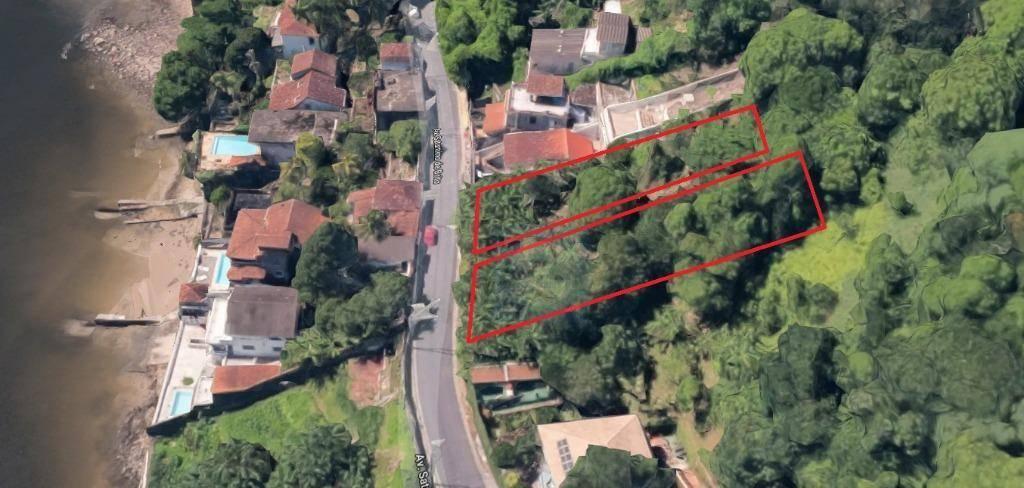 Terreno à venda, 606 m² por R$ 250.000 - Parque Prainha - São Vicente/SP