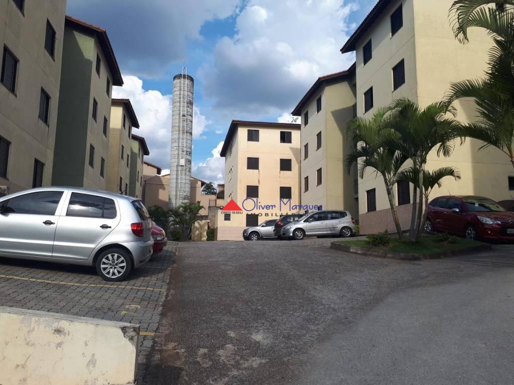 Apartamento com 2 dormitórios à venda, 52 m² por R$ 191.000 - Carapicuíba - Carapicuíba/SP