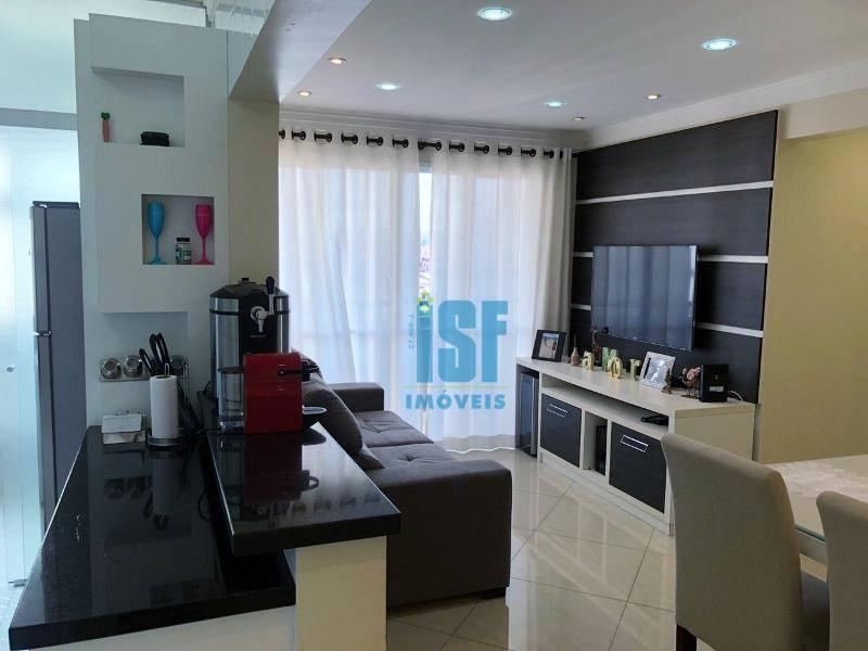 Apartamento com 3 dormitórios à venda, 81 m² por R$ 490.000 - Jardim D Abril - Osasco/SP - AP24428.